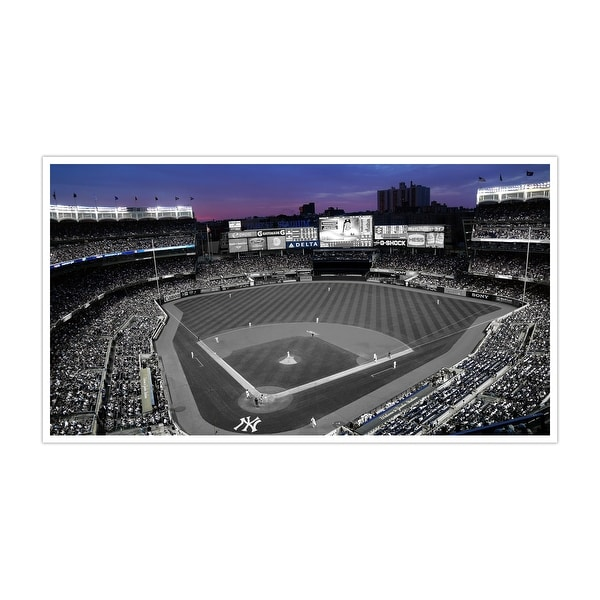 New York - Yankee Stadium - Touch of Color Baseball Ballparks - 36x20 Canvas ToC