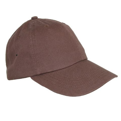 1ceecb9559c70 CTM® Cotton Basic Lightweight Baseball Cap