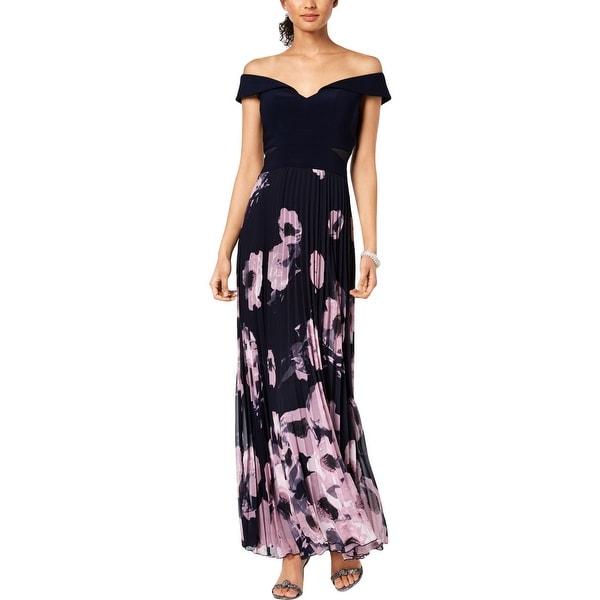9e86bba5 Shop Xscape Womens Evening Dress Off-The-Shoulder Floral - 4 - Free ...