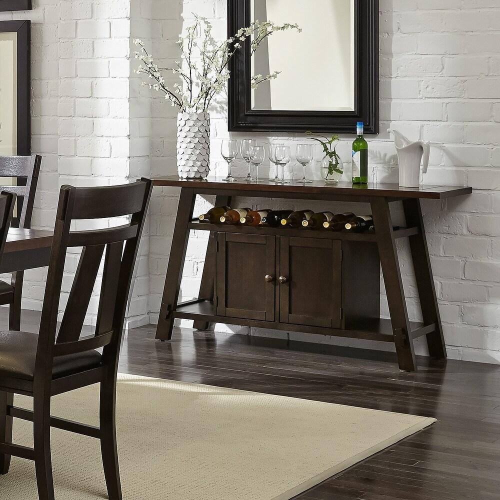 Liberty Furniture Lawson Espresso Two Tone Transitional Serverr (Espresso)