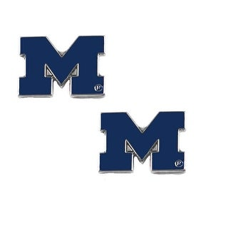 Michigan Wolverines Post Stud Earring NCAA Charm Set