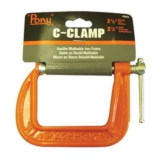"""Pony 2625 Adjustable C-clamp, 2-1/2"""" x 2-1/2"""""""