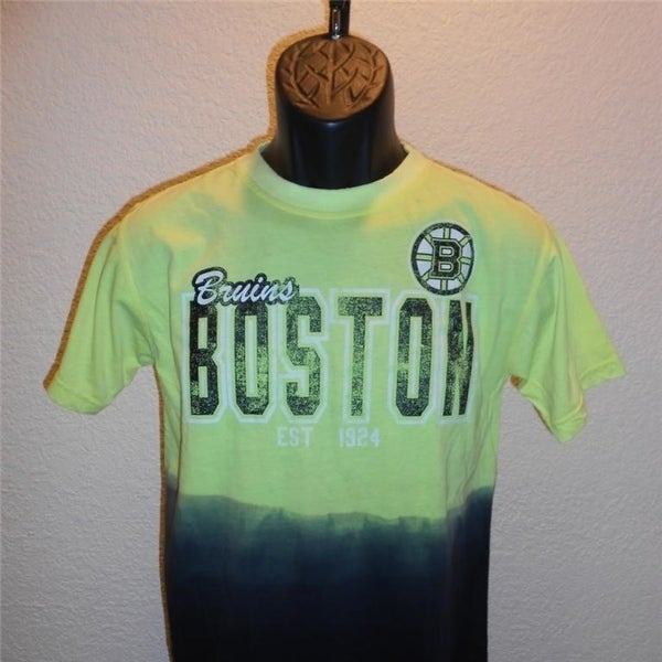 e8eefef71 Shop Mended- Boston Bruins Youth Medium M (Size 10-12) Fade Style Shirt -  Free Shipping On Orders Over  45 - Overstock.com - 23547771