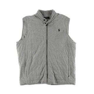 Polo Ralph Lauren Mens Vest Signature Quilted