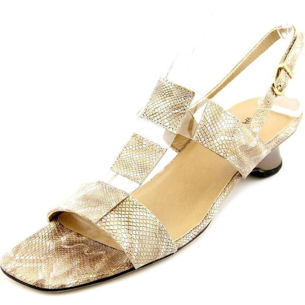 Vaneli Berdine Women Camel Sandals