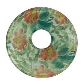 Replacement Waterfall Faucet Glass Disc Plate Garden