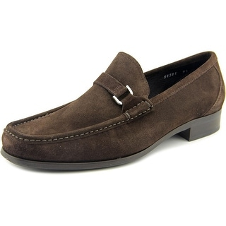 To Boot New York 91381 Men Moc Toe Suede Brown Loafer
