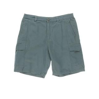 Tommy Bahama Mens Tencel Textured Cargo Shorts
