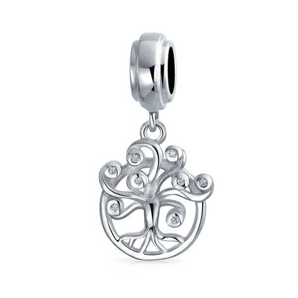 Family Dreamer Wishing Tree Of Life Dangle Bead Charm Sterling Silver. Opens flyout.