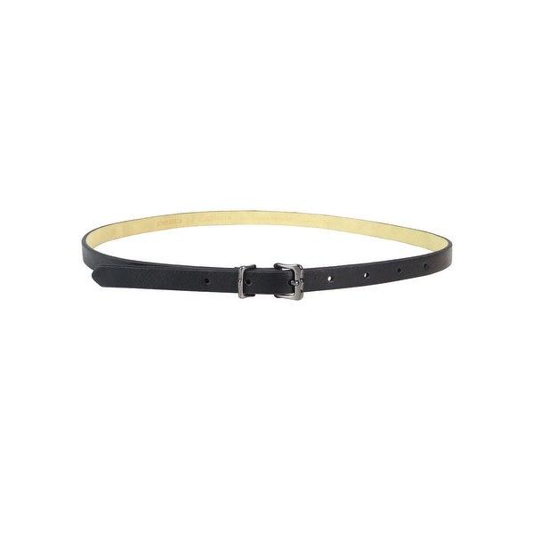 Style & Co. Women's 2PC Faux Snake Leather Skinny Belt Set