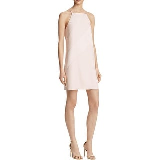 Parker Womens Casual Dress Two Tone Knee-Length