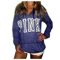 Women's Casual Long Sleeve Pullover Tops Leisure Hoodie Sweatshirt