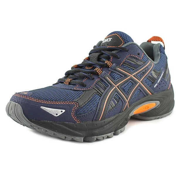Asics Gel- Venture 5 Men Round Toe Synthetic Blue Running Shoe
