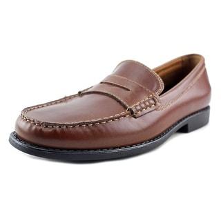 Izod Edmund Men Moc Toe Synthetic Tan Loafer