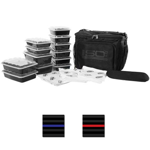 Isolator Fitness 6 Meal ISOCUBE Meal Prep Management Bag - One Size