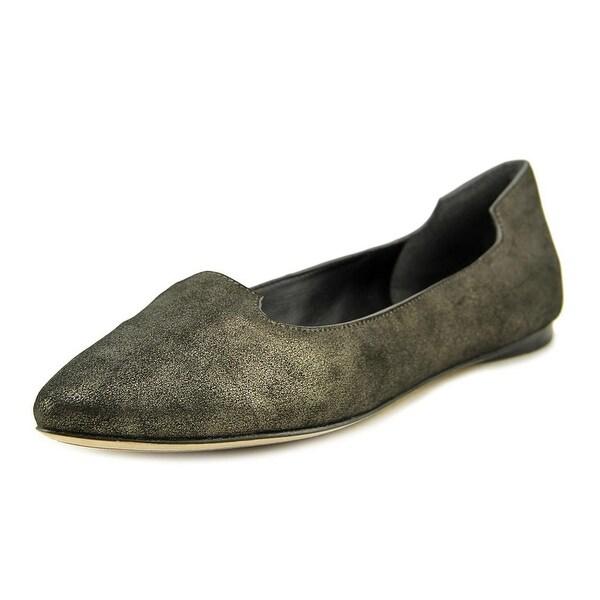 Sigerson Morrison Vivie Women  Pointed Toe Leather Black Flats