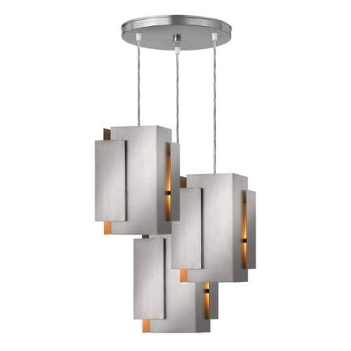 Fredrick Ramond FR30408 3 Light Full Sized Pendant from the Stratus Collection