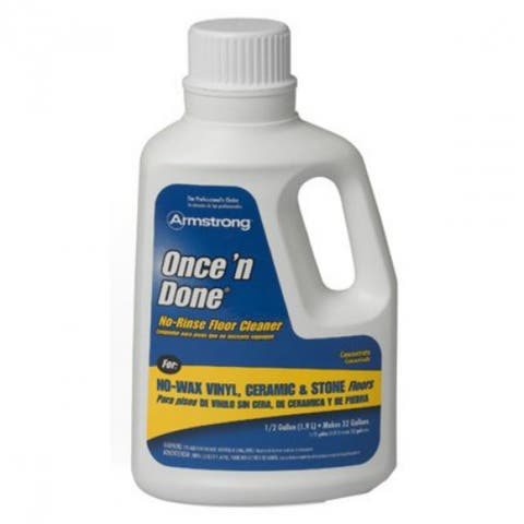 Armstrong 330806 Once 'N Done Concentrated Floor Cleaner, 64 Oz