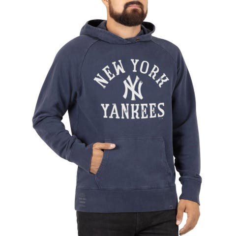 47 Mens New York Baxter Hooded Sweatshirt Medium Blue