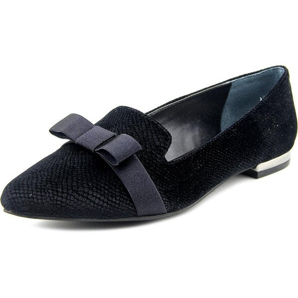 Alfani Zurry Women Pointed Toe Synthetic Black Flats