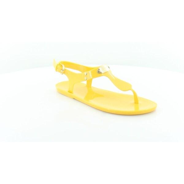 88b8fada9f24 Shop Michael Kors Plate Jelly Sandal Women s Sandals Sunflower - 6 ...