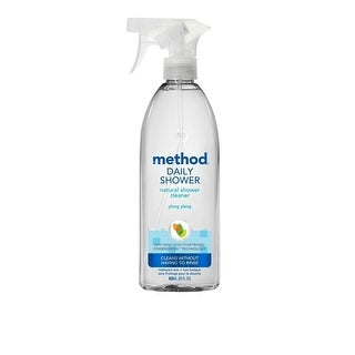 Method Products Daily Shower Cleaner Spray - Ylang Ylang - Case of 8 - 28 Fl oz.