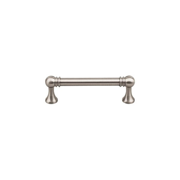 """Top Knobs TK802 Kara 3-3/4"""" Center to Center Handle Cabinet Pull from the Serene Series"""