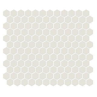 Emser Tile W71SHAP1012MHXM  Shape - Hexagon Mosaic Floor and Wall Tile - Polished Tile Visual - Bone