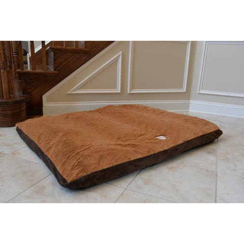 Armarkat Extra Large Faux Suede Dog Bed