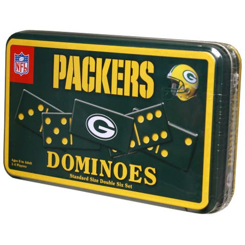 Green Bay Packers Dominoes in Tin - Multi