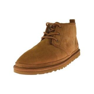 Ugg Mens Neumel Chukka Boots Suede Casual - 11 medium (d)