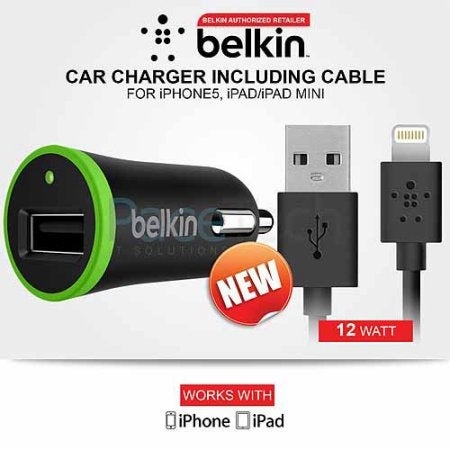Shop Belkin F8j121bt04 Blk Boost Up Car Charger With