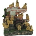 Poochi Paradise 25 Piece Collectible Dog Figurine Set - Thumbnail 0