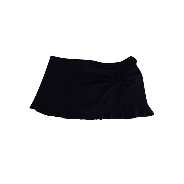 Shop Profile by Gottex Women s Plus Size Tutti Frutti Slit Swim Skirt (18W 4e2d569c2859