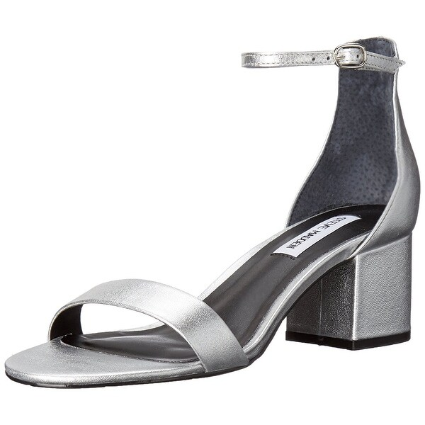 Steve Madden Womens Irenee Open Toe Formal Ankle Strap Sandals