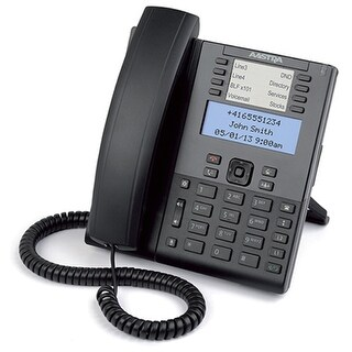 Aastra 6865i Corded VoIP Phone W/ 9 Line SIP LCD Display & XML Capability