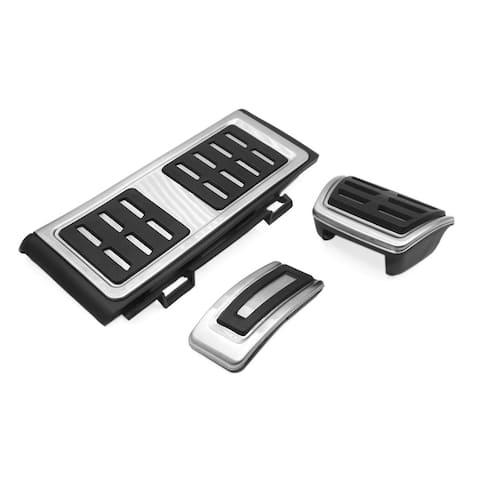 3Pcs Accelerator Brake Rest Foot Footrest Pedals Pad Kit for VW Golf 7 2017 Magotan New Octavia Lamando