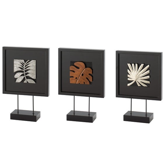 Sumatra Square Standing 3 Piece Art By Sitcom Furniture