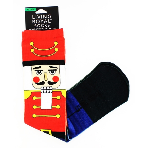 Christmas Nutcrackers Knee High Socks - multiple