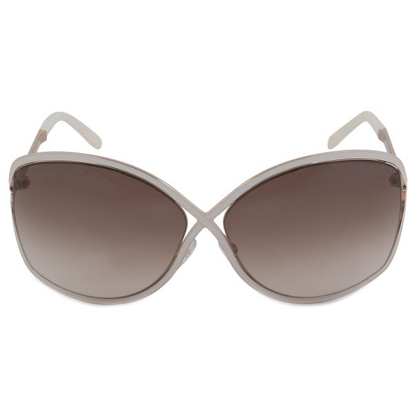 Shop Tom Ford Rickie Oval Sunglasses FT0179 28G 64 - Free Shipping ...