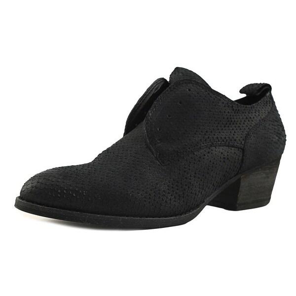 Dolce Vita Savannah Women Round Toe Leather Black Oxford