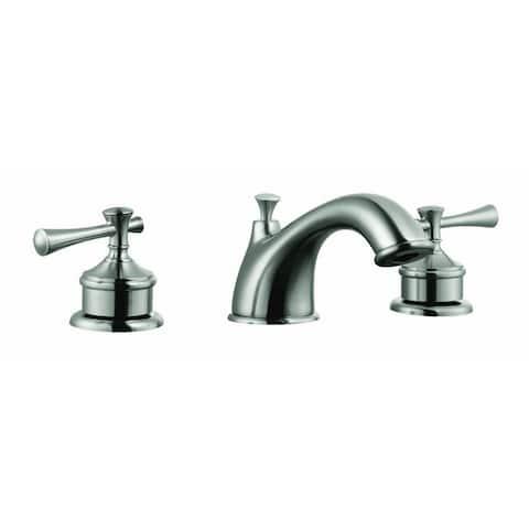 Design House 524587 Ironwood Wide Spread Lavatory Faucet Satin Nickel - Satin Nickel
