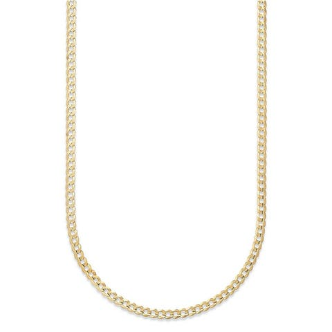 Pori Jewelers 14k Gold Cuban Chain Necklace