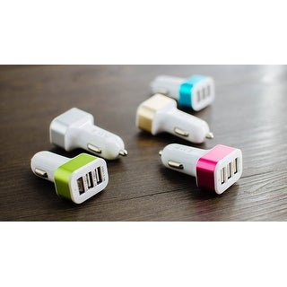 3 Port USB Car Charger (5 options available)