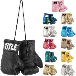 Title Boxing Flash Authentic Detailed Mini Lace Up Gloves (2 options available)