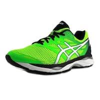 Asics Gel-Cumulus 18  Green Gecko/Silver/Safety Yellow Running Shoes