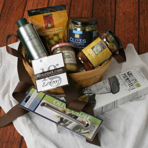 Olive Lover's Gift Basket