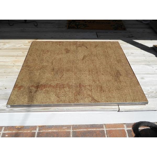Deckprotect Fire Pit Mat & ... - Shop Deckprotect Fire Pit Mat & Rack - Free Shipping Today
