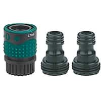 Gilmour 29AQ Hose End Connector Set, Polymer