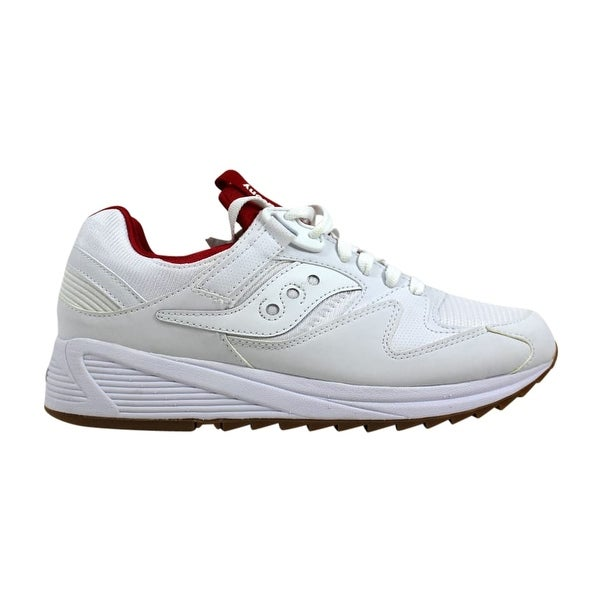 ed8b1574a8178 Shop Saucony Men s Grid 8500 White Red S70286-5 - Free Shipping ...